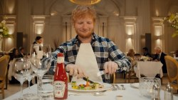 Watch Ed Sheeran star in Heinz ketchup commercial