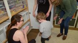 The Home Edit ladies help Savannah organize her kids' playroom