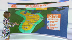 Millions at risk for severe weather targeting Midwest and South