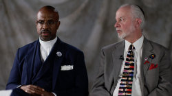 Charleston reverend and Pittsburgh rabbi find forgiveness