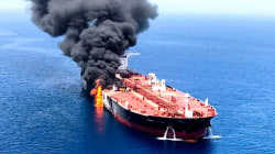 2 US drones targeted before tanker attack, officials say