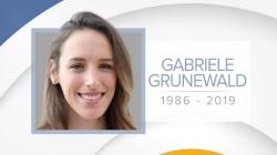 Runner Gabriele 'Gabe' Grunewald dies at 32