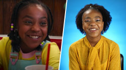 'Stranger Things' star Priah Ferguson weighs in on Erica's best line