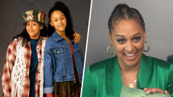 'Sister, Sister' star Tia Mowry reacts to pics of herself 25 years later