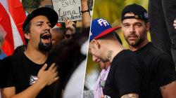 Ricky Martin, Lin-Manuel Miranda demand Puerto Rico Gov. resign