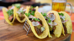 BBQ recipes: Bobby Flay and Michael Symon make tostadas and tacos