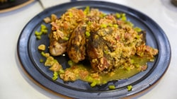 Grill mouthwatering pork chops with chef Marcus Samuelsson