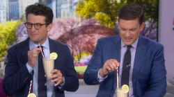Would you drink a hummus milkshake? TODAY anchor taste test