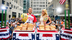 Meet the Nathan's Famous 4th of July hot dog eating champs