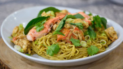 Make Cedric Vongerichten's lobster ramen noodles