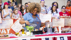 Make Sunny Anderson's curry-rubbed steak and potato salad