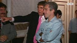 New tape shows Trump and Epstein at Mar-a-Lago party in 1992