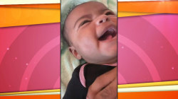 Adorable video appears to show baby saying 'I love you'