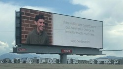 Should you date Braden? 24-year-old looks for love using billboards