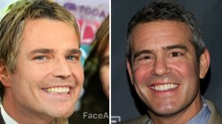 Savannah Guthrie is Andy Cohen's twin thanks to FaceApp
