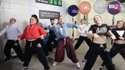 See J.Lo and Savannah Guthrie take on Dance or Donate Challenge