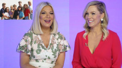 Jennie Garth, Tori Spelling reveal favorite '90210' moments
