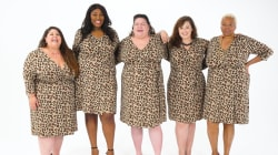 Watch 5 women break the 'rules' of plus-size fashion in trendsetting cheetah print dresses
