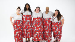 Watch 5 women break the 'rules' of plus-size fashion in a beautiful, bold print