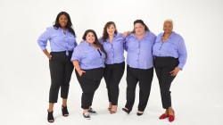 Watch 5 women break the 'rules' of plus-size fashion in a stylish button-down shirt