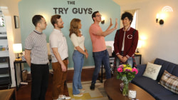 The Try Guys give behind-the-scenes tour of their studio