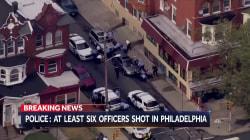 Multiple police officers shot in Philadelphia