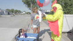See Hoda Kotb surprised by singing chicken telegram for her birthday