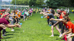 Field day! TODAY staff faces off in fun competition