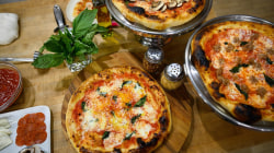 Make Nino Coniglio's tasty grilled pizza