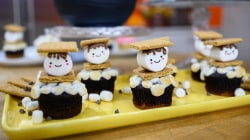 YouTube star Rachel Fong bakes scrumptious s'mores cupcakes
