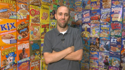 How a man's love for cereal sparked his hunger to collect