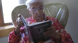 Woman, 97, combats loneliness through the power of reading