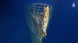 New Titanic photos reveal sunken ship wrecked by ocean