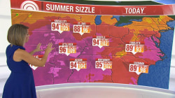 Heat wave grips nation, impacting nearly 50M people