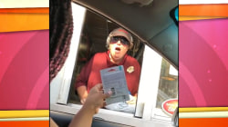 Uber driver gives gifts to fast food worker after learning about her struggles
