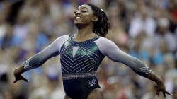 Simone Biles nabs 6th US title with historic triple-double