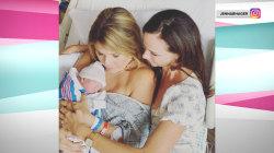 Jenna shares photo of sister Barbara meeting new son Hal