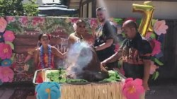 Couple uses volcano in unique gender reveal
