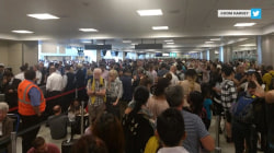 Travelers delayed amid nationwide computer outage at airports