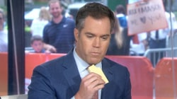 Weekend TODAY anchors try hot dog and mustard ice cream sandwich
