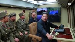 Iran, North Korea test-fire missiles