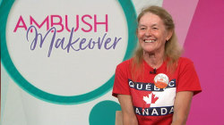 Ambush Makeover: Retired teacher receives fresh anniversary look