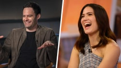Bill Hader, Mandy Moore and more Emmy nominees chat with TODAY