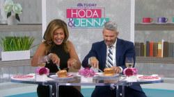 Hoda and Andy try KFC's doughnut chicken sandwich