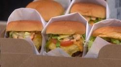 Football recipes: Make David Rose's burgers and brats