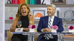 Poop shame? Hoda and Andy get candid about going at work