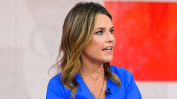 Savannah Guthrie checks in as she recovers from pneumonia