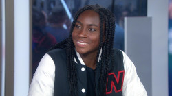 Tennis sensation Coco Gauff discusses her rise to fame