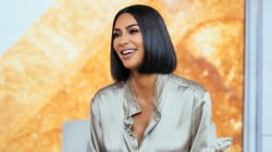 Kim Kardashian West dishes on Skims, studying law and life at home