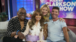 Watch Kelly Clarkson reunite with 'American Idol' judges
